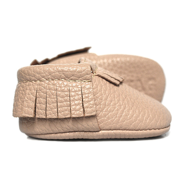 Best Baby Moccasin Boots. Toms baby moccasin boots are designed with a faux-fur lining that are perfect for the colder months. And you can feel good about each pair you buy: For every purchase of the vegan-friendly shoes, the company donates a pair of shoes to a child in need.